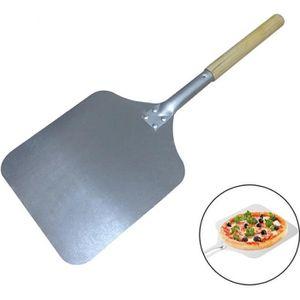 PIÈCE DÉTACHÉE CUISSON Pelle à pizza en aluminium de 66 cm avec poignée e