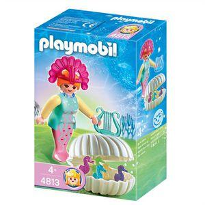 UNIVERS MINIATURE Playmobil Sirène avec bébés hippocampes