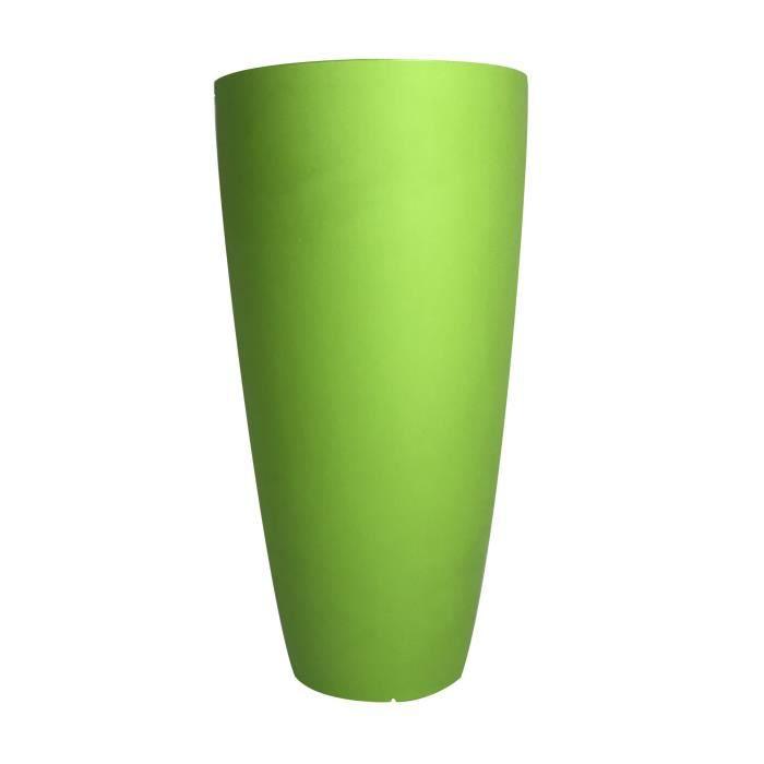 Pot de fleurs conique Delight - 200 L - Vert