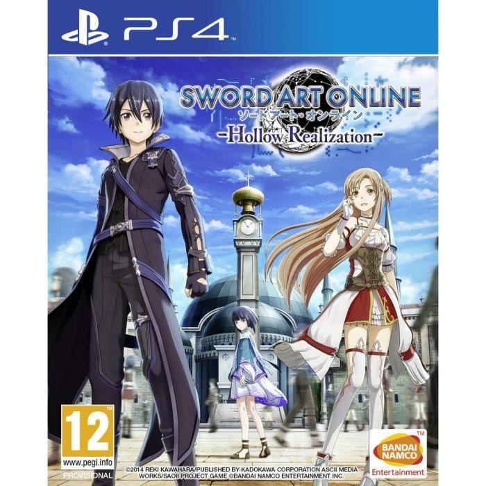 Sword Art Online : Hollow Realization Jeu PS4