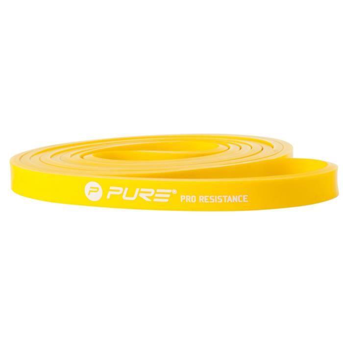 PURE2IMPROVE Bande de résistance - Fitness - Jaune