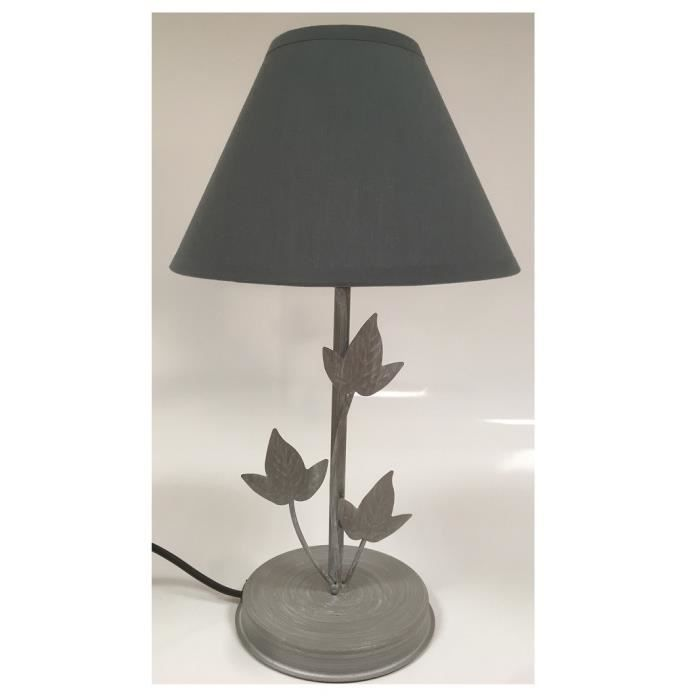 abat jour lampe pas cher gris fonc design de maison design de maison. Black Bedroom Furniture Sets. Home Design Ideas