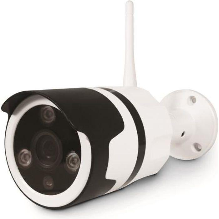 CAMÉRA FACTICE Caméra extérieure HD - Connecté à Internet - Fonct