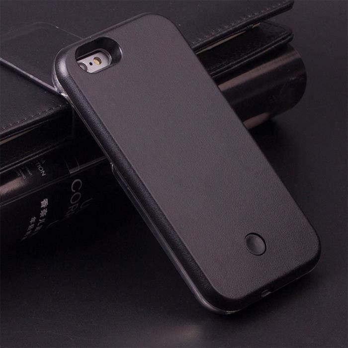coque iphone 6 plus led