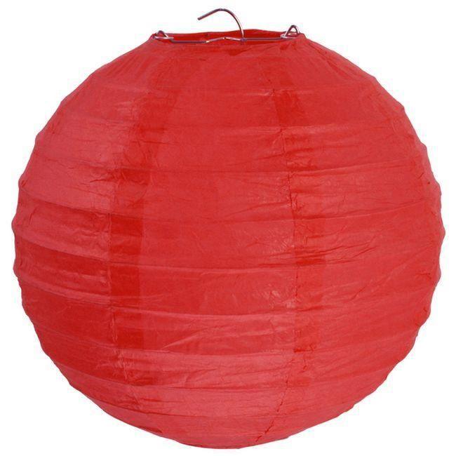 Lampion Boule Chinois 50 Cm Rouge Achat Vente Lanterne Fantaisie