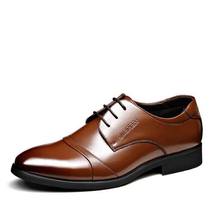 Cuir verni les chaussures habillées pour hommes... Noir Marron ... 93aa1fd97711