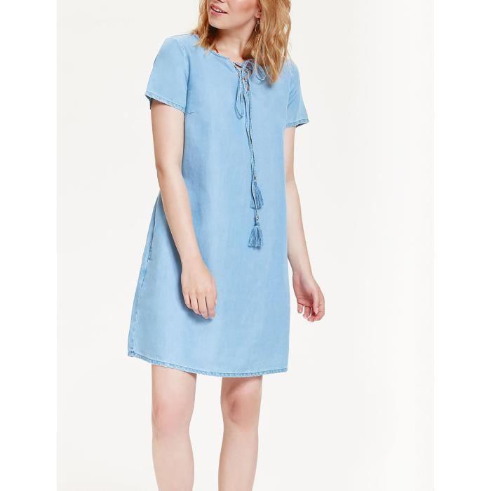 Top Secret Robe bleu Femme SSU1916NI