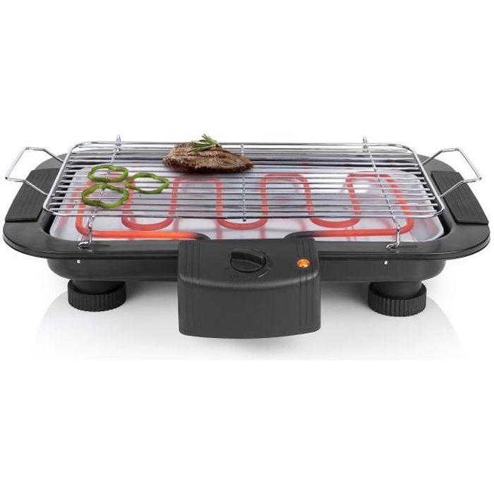 BARBECUE DE TABLE TRISTAR BQ2813 Barbecue électrique de table - Noir