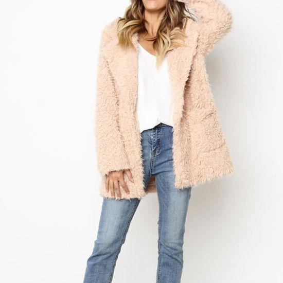 Casual Chaud Outwear Hiver Parka Couverture Veste De Poil rw10186 Mode Manteau Femmes Pardessus Ewq1Sg