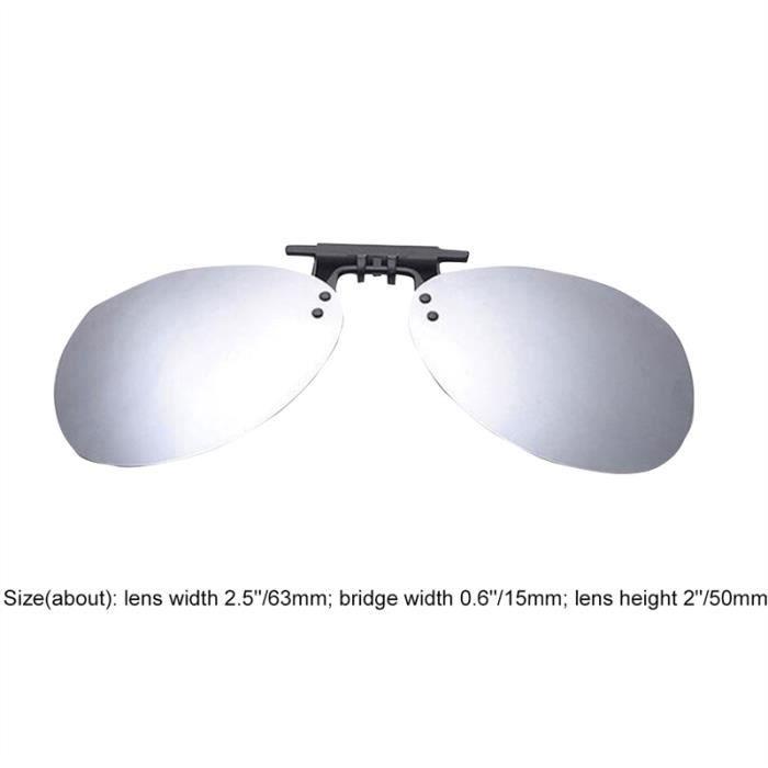 Hommes Femmes polarisantes Sunglasses à clipper