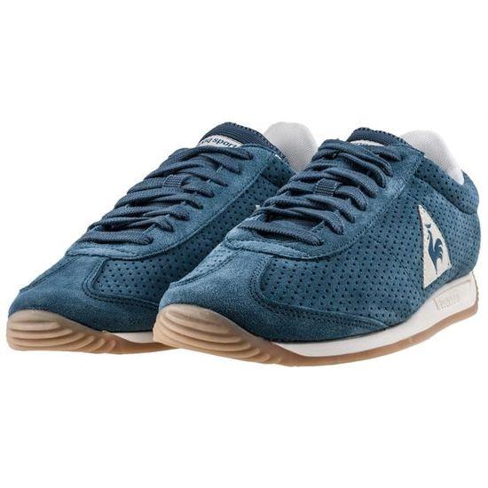 Le Coq Sportif Quartz Premium Hommes Baskets Teal Bleu - 44 EU Bleu Teal  bleu - Achat   Vente basket - Soldes  dès le 9 janvier ! Cdiscount 135466ca0ce6