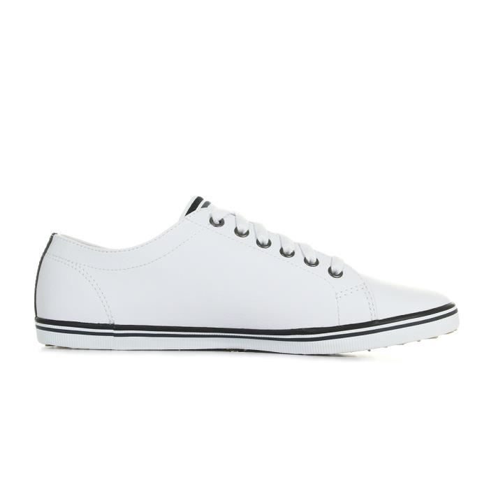 Baskets Fred Perry Kingston Leather White