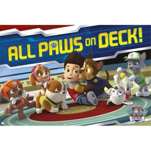 AFFICHE - POSTER Poster Pat' Patrouille - All Paws On Deck! (91 x 6