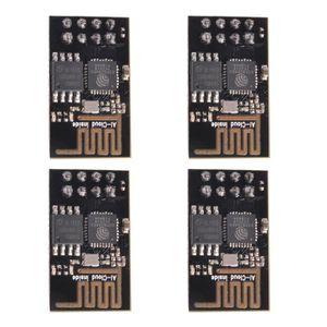 PC EN KIT 4Pcs ESP8266 ESP-01 WIFI Module sans fil Émetteur-