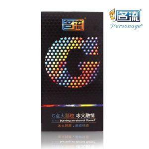 PRÉSERVATIF Paquet de 10 Latex aromatisé G grosses particules