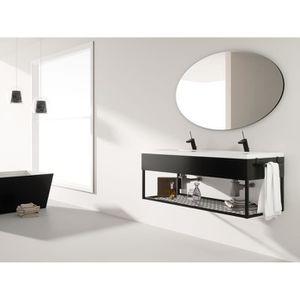 Meuble salle de bain industriel - Achat / Vente pas cher