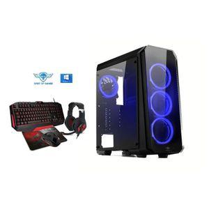 UNITÉ CENTRALE  Ordinateur Pc Gamer Deathmatch 8 Blue AMD Athlon 2