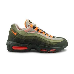 9d16b16f2f7dc ESPADRILLE Nike Air Max 95 Og Homme Baskets Olive Orange