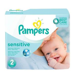 COUCHE 420 Couches Pampers New Baby Sensitive taille 2