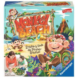 JEU SOCIÉTÉ - PLATEAU Ravensburger Monkey Beach, Jeu éducatif, Enfants,