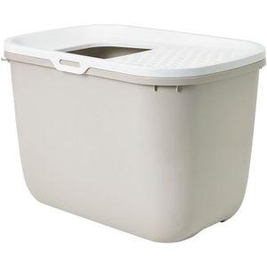 BAC À LITIÈRE SAVIC Maison de toilette Hop In - 58x39x40cm - Mok