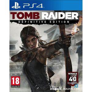 JEU PS4 TOMB RAIDER DEFINITIVE EDITION PS4