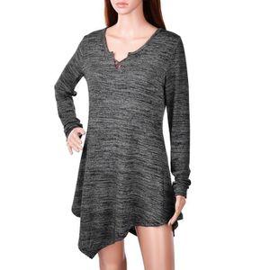 T-SHIRT Vbiger T-shirt Tunique Femme Tunique Coupe Décontr