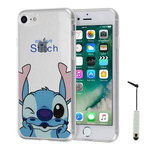 coque iphone 7 stitch silicone