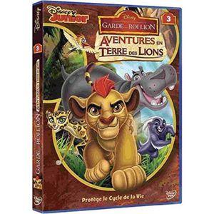 DVD DESSIN ANIMÉ La Garde du Roi Lion 3 Aventures en Terre des Lion