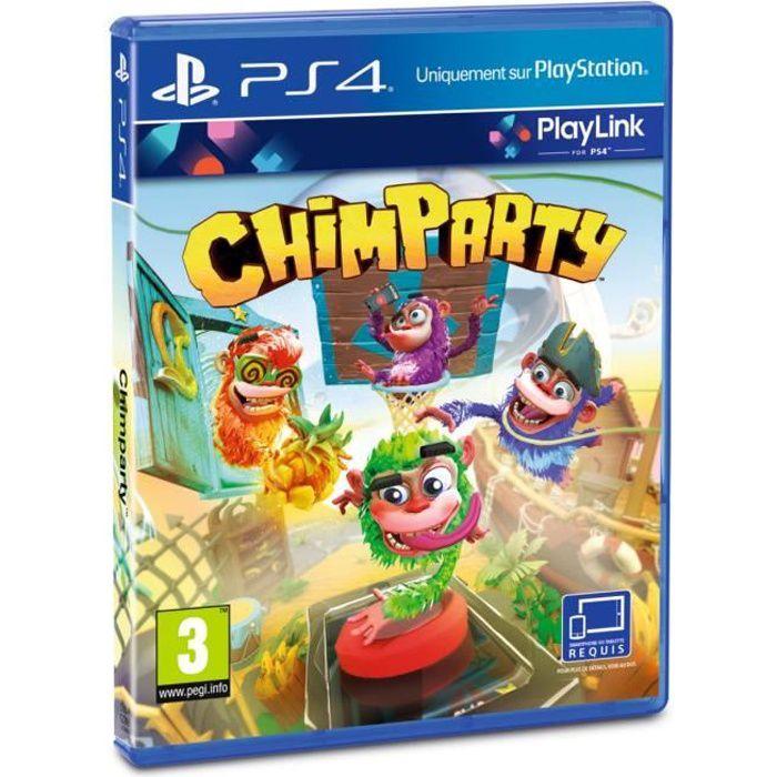 JEU PS4 Chimparty Jeu PS4 - Playlink