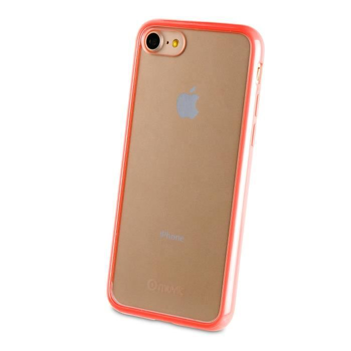 MUVIT Coque Crystal Bump Rose Pour Apple Iphone 7