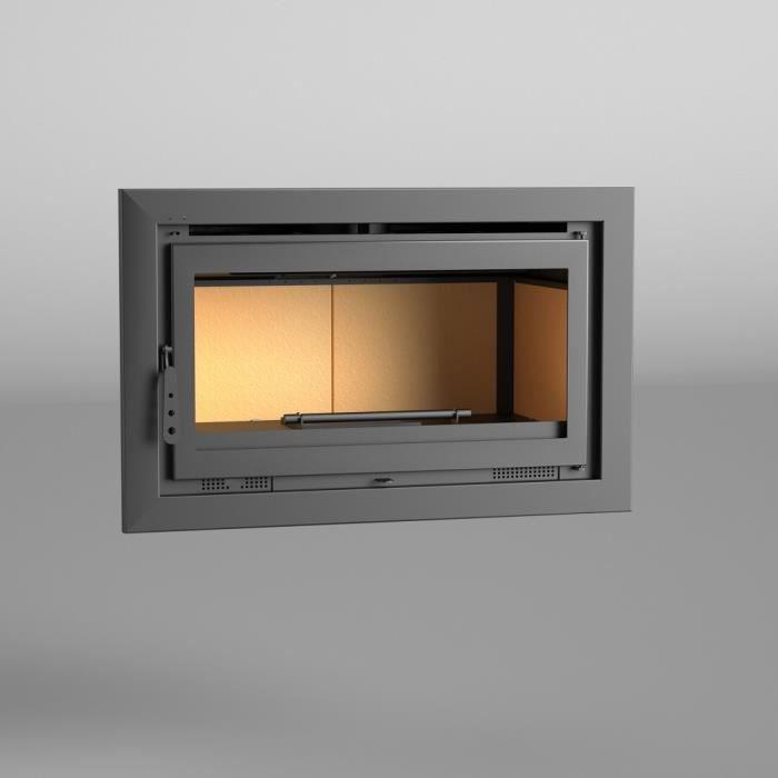 INSERT - FOYER FM Insert de cheminée IT-100 14,5kW à chaleur vent