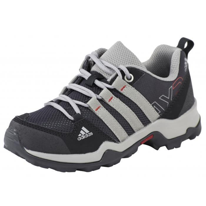 Chaussures à lacets Adidas AX2 noires garçon emF3qGh