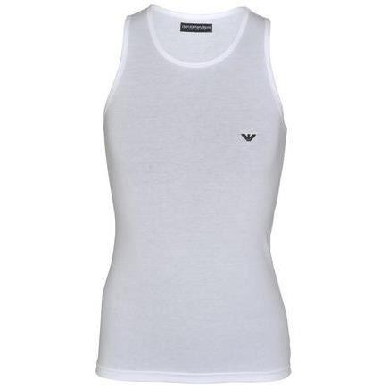 b77761b63fb7 Debardeur Emporio Armani Homme BLANC - Achat   Vente t-shirt ...