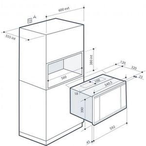 Micro onde hauteur 26 cm - Achat / Vente pas cher