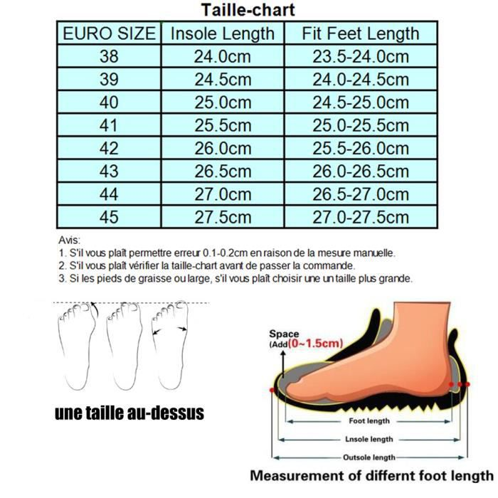 Taille Mocassin En 45 Toile Chaussures Voile Hommes 38 À 1zxvf
