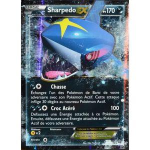 CARTE A COLLECTIONNER carte Pokémon 91-160 Sharpedo EX 170 PV Série X...