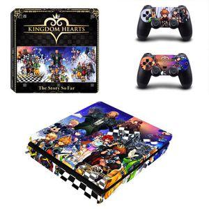 STICKER - SKIN CONSOLE Anime Kingdom Hearts The Story So Far PS4 Slim Con