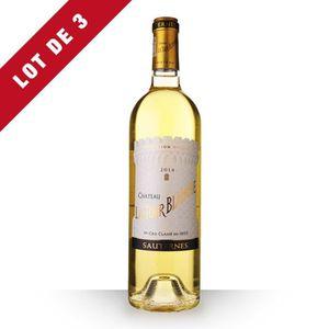 VIN BLANC 3X Château la Tour Blanche 2014 Blanc 75cl AOC Sau