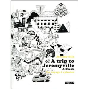 BANDE DESSINÉE Livre - a trip to Jeremyville ; artbook ; un voyag