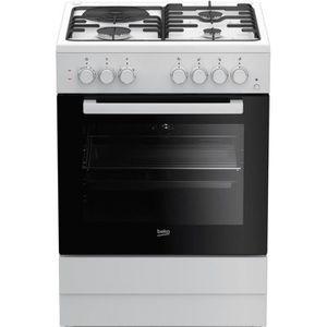 CUISINIÈRE - PIANO Cuisinière BEKO - FSS 63110 DWCS • Cuisinière et P