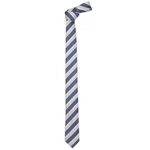 CRAVATE - NŒUD PAPILLON Cravate de Fabio Farini rayé en bleu-jaune