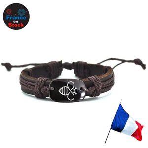 Royaume-Uni disponibilité 80a2a 73da0 Bracelet cuir enfant