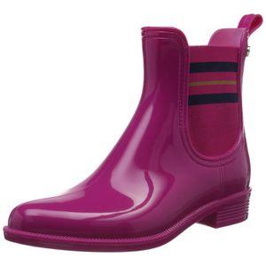 Bottes de pluie Tommy hilfiger femme - Achat   Vente Bottes de pluie ... 1d7760e83e87