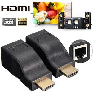CÂBLE RÉSEAU  U HDMI Vers RJ45 Lan Ethernet Réseau Cable Extense