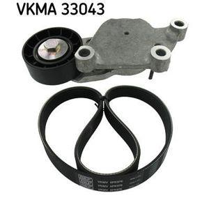COURROIE TRAPÉZOÏDALE SKF Kit courroie d'accessoire VKMA 33043
