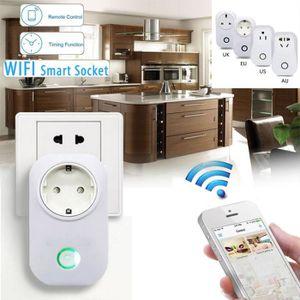 PRISE TÈLÈCOMMANDÈE TEMPSA 2200W Wifi Contrôle à Distance Sans Fil int