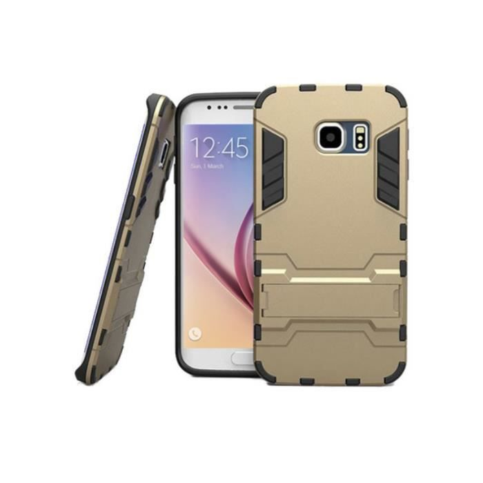 COQUE ANTICHOCS POUR GALAXY S7 Edge   Coul  OR   SAMSUNG PROTECTION ... 679d70f1c084