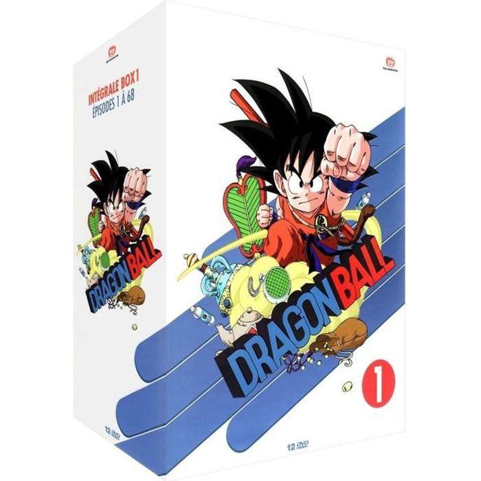 DVD DESSIN ANIMÉ Dragon Ball - Intégrale Box 1 - Épisodes 1 à 68 -