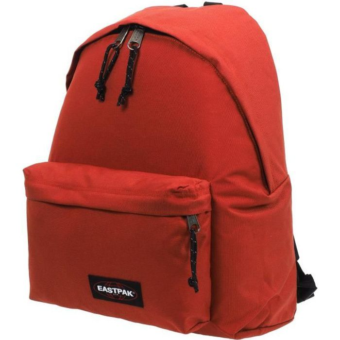 Sac à dos collège Padded raw red - Eastpak UNI Rouge Brique